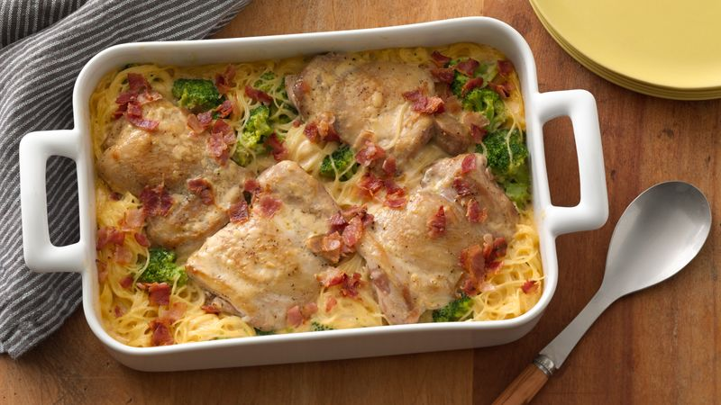 Smothered Chicken Casserole Recipe