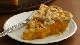 Mango Pineapple Pie with Macadamia Lattice Crust