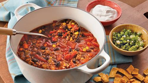 Chili recipes with ground beef and beans easy