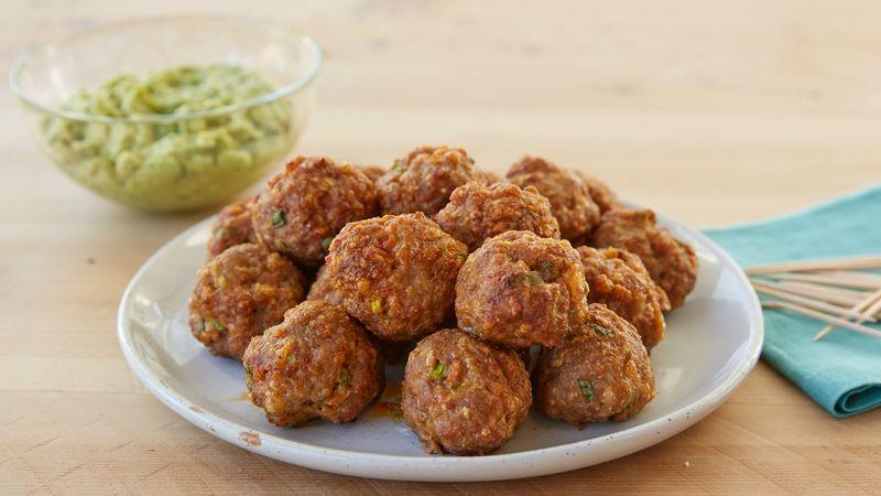 Taco Pork Meatballs