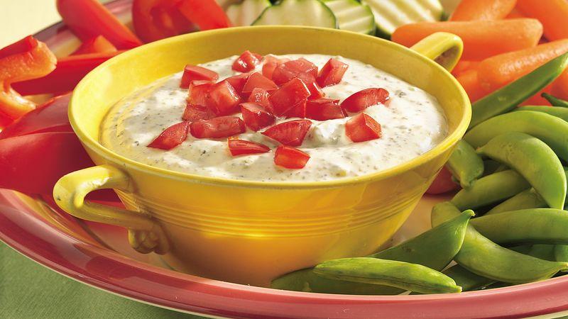 Creamy Pesto Dip