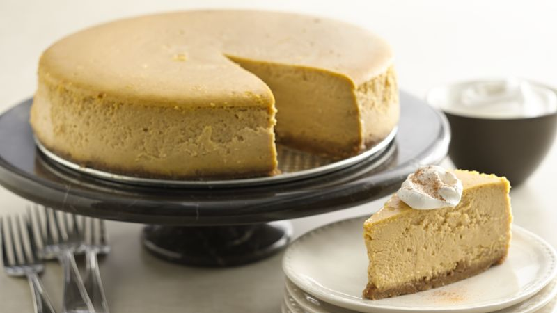 Pumpkin Cheesecake Recipe Bettycrocker Com