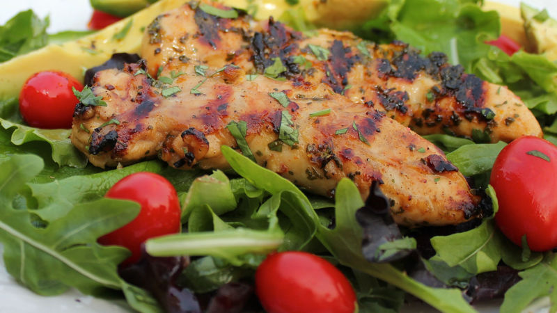 Tequila-Lime Chicken with Honey Drizzle