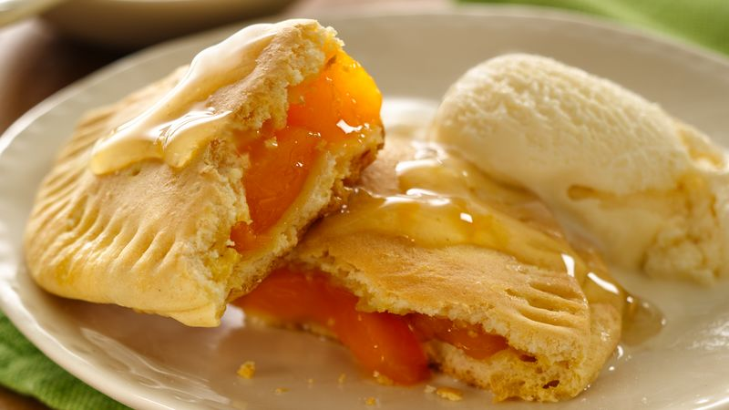 Honey-Ginger Peach Pies