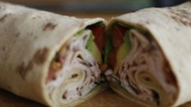California Turkey Club Wrap