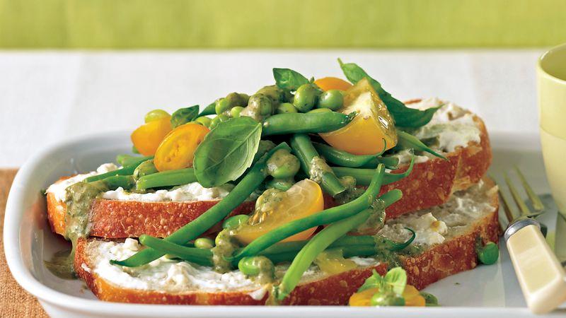 Skinny Green Bean and Edamame Salad