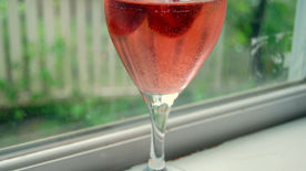White Wine-Strawberry Sangria