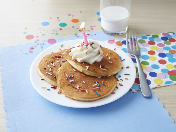Birthday Cake Pancakes General Mills Convenience and Foodservice