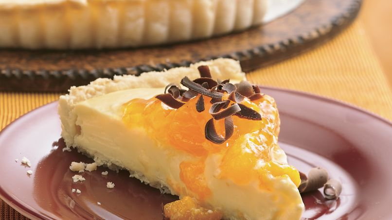 Orange-Cream Cheese Tart