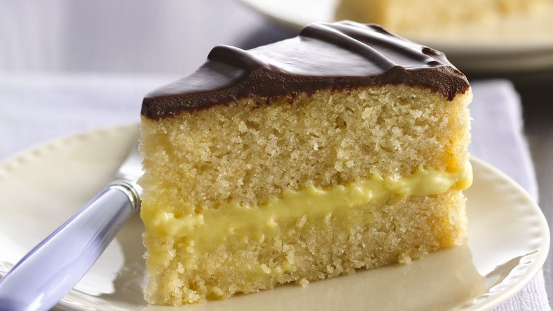 Gluten-Free Boston Cream Pie