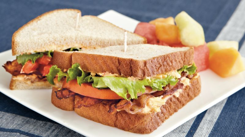 BLTs with Pimiento Cheese