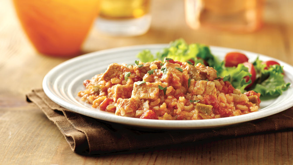 Spanish Pork and Rice