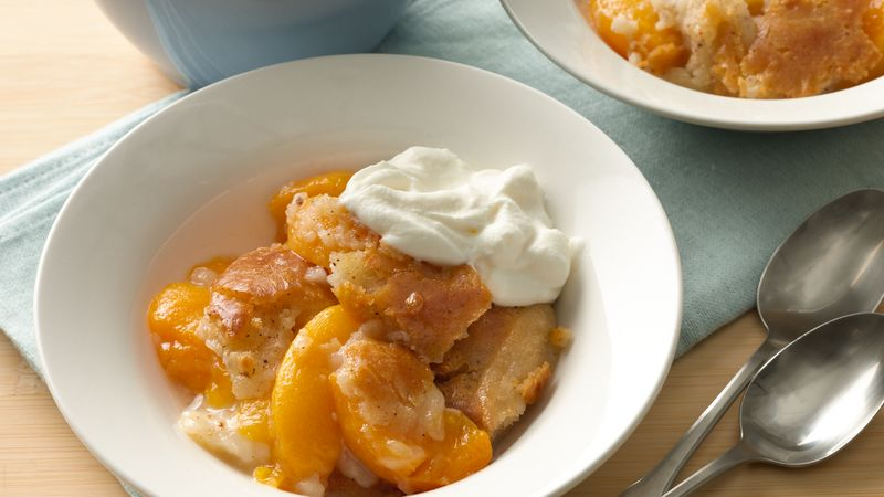 Fresh peach cobbler recipes easy