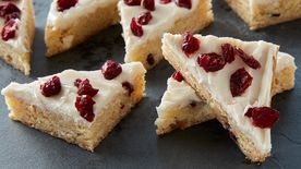 White Chocolate-Cranberry Cookie Bars