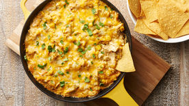Green Chile Chicken Skillet Dip