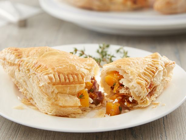 recipe: butternut squash goats cheese puff pastry [24]