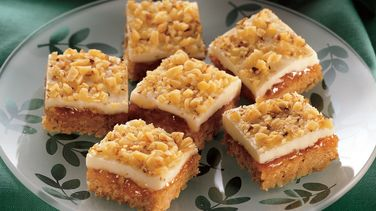 White Chocolate Apricot Squares