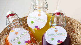 Candy-Infused Vodka