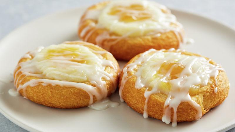 Lemon-Cream Cheese Crescent Danish