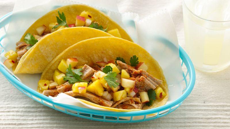 Gluten-Free Kalua Pork Tenderloin Tacos