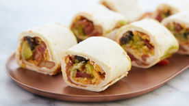 Mexican 7-Layer Roll-Ups