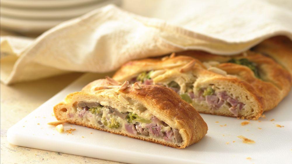 Ham and Swiss Crescent Braid recipe from Pillsbury.com