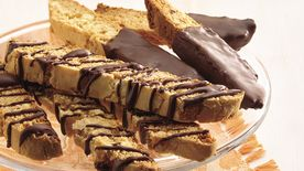 Cake Mix Coconut-Almond Biscotti