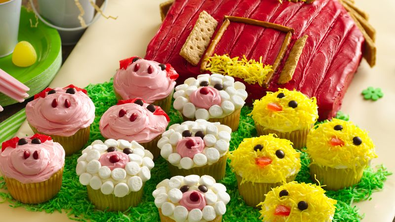 Pineapple Angel Food Cake Cupcakes