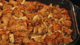 Apple, Sage and Walnut Stuffing