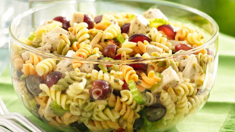 recipe: chicken macaroni salad with grapes [3]