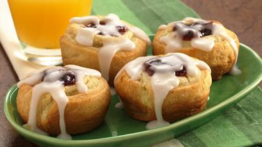 Cherry-Almond Swirls
