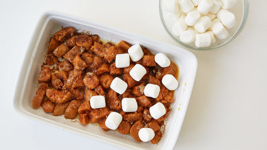 Marshmallow Topped Sweet Potatoes Recipe Pillsburycom