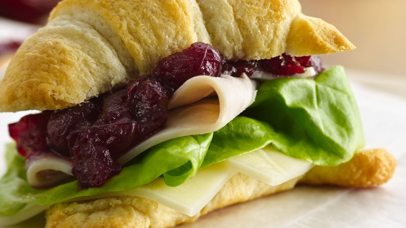 Cranberry-Turkey Sandwiches