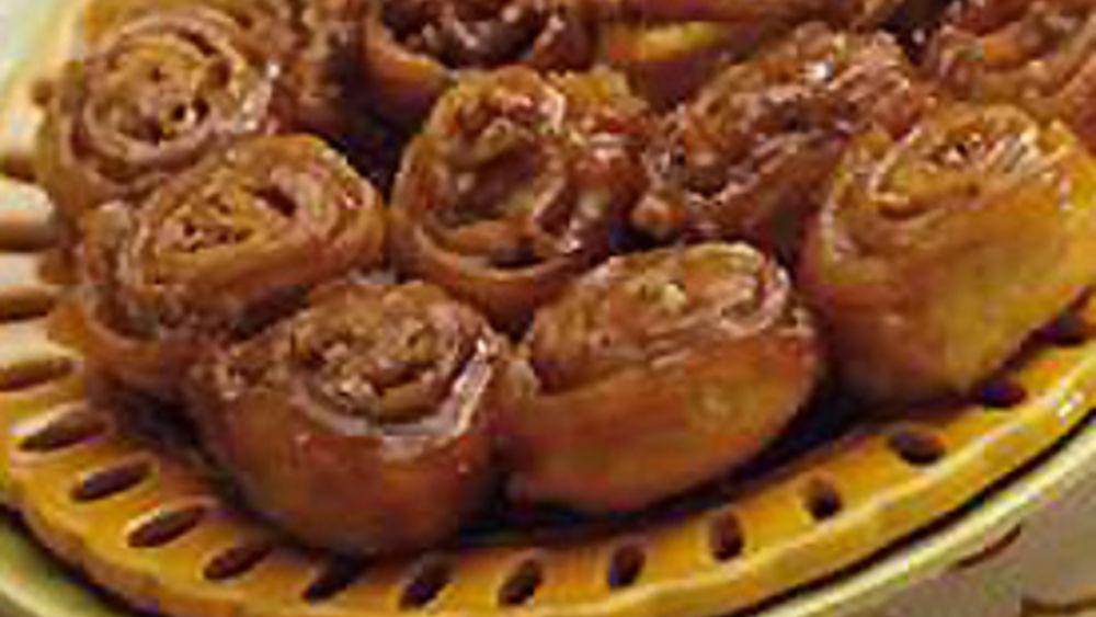 Petite Caramel Pecan Rolls