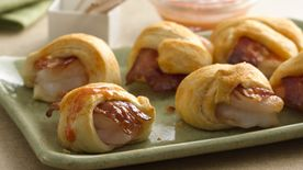 Shrimp and Bacon Crescent Poppers
