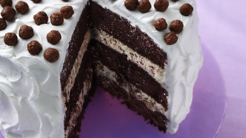 Cocoa puffs cereal crunch cake recipe bettycrocker cocoa puffs cereal crunch cake ccuart Choice Image