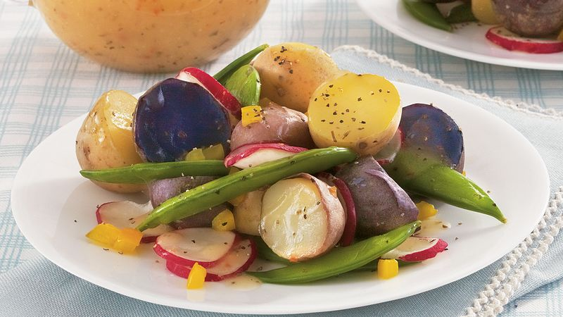 Spring Vegetable Confetti Salad