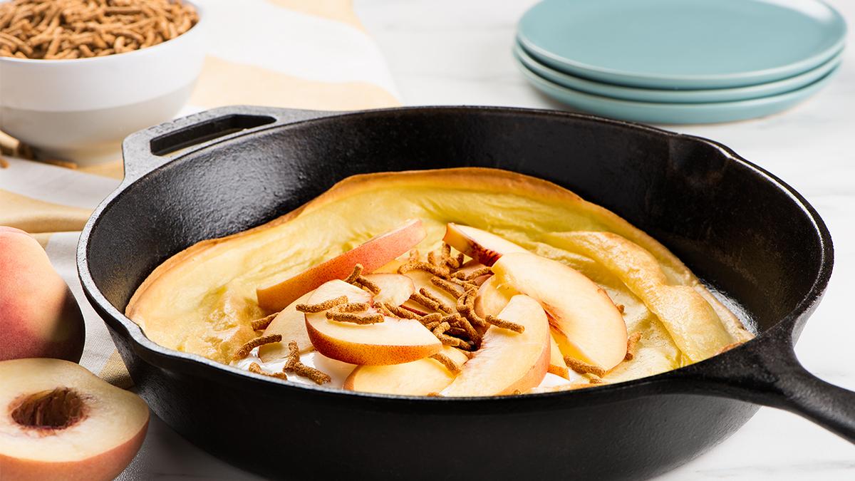Peach Oven Pancake