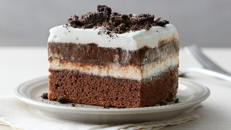 Oreo Brownie Lush Recipe BettyCrockercom