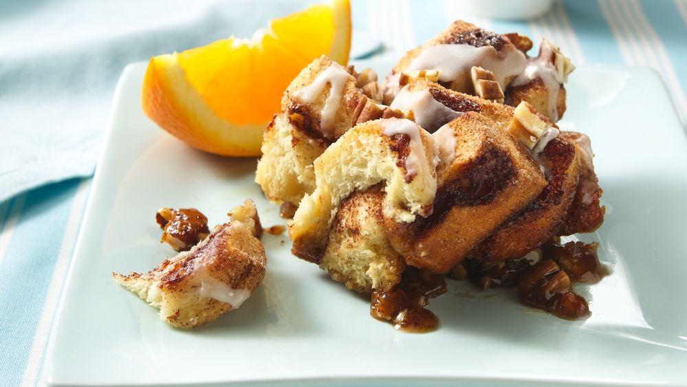 Orange Coffee Cake Rolls Recipe