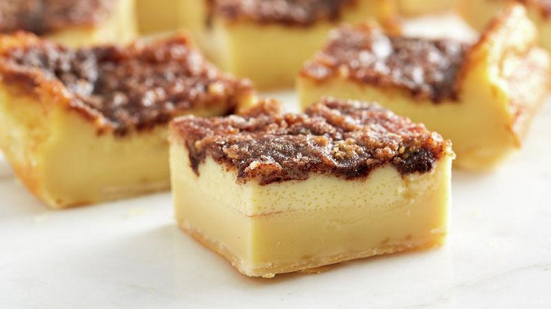 Churro Crème Brûlée Bars