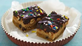 Creamy Peanut Butter Filled Bars