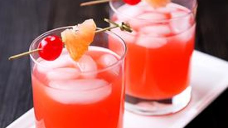 Easy Grapefruit Cocktail