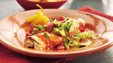 Green Chile-Turkey Enchiladas