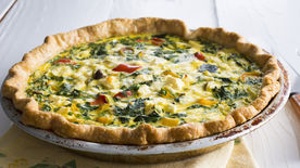 Greek Vegetable Quiche