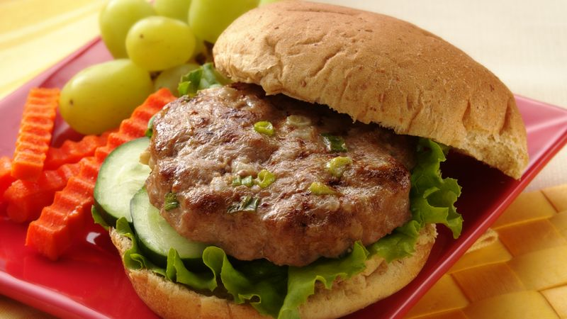 Asian Turkey Burgers