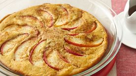 Apple Oven-Baked Pancake