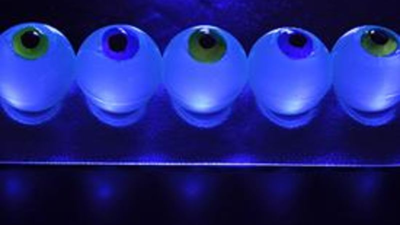 Glow-in-the-Dark Eyeball Jello Shots
