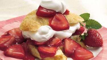 Crescent Strawberry Shortcake
