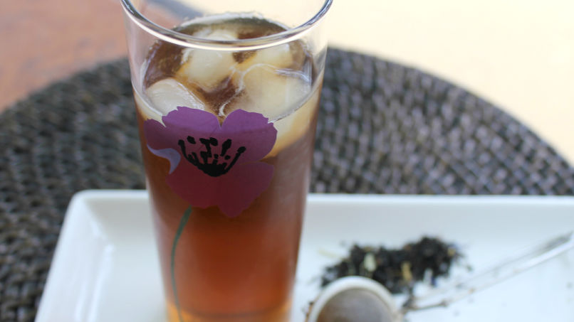 Passion Flower Iced Tea